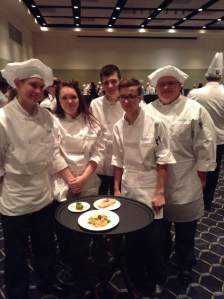 The CCCTC team poses with their completed meal. (contributed photo)