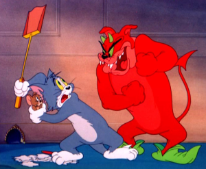 http://villains.wikia.com/wiki/Satan_(Tom_%26_Jerry)