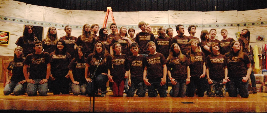 The cast of Hollywood Hillbillies will take the stage at 7 p.m. on April 24 and 25. (photo by Nick Woge/SHS)