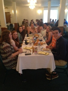 The senior banquet. (photo contributed)