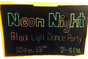 Wear light colors so you shine bright on the dance floor!