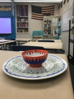Pottery by a Spanish student