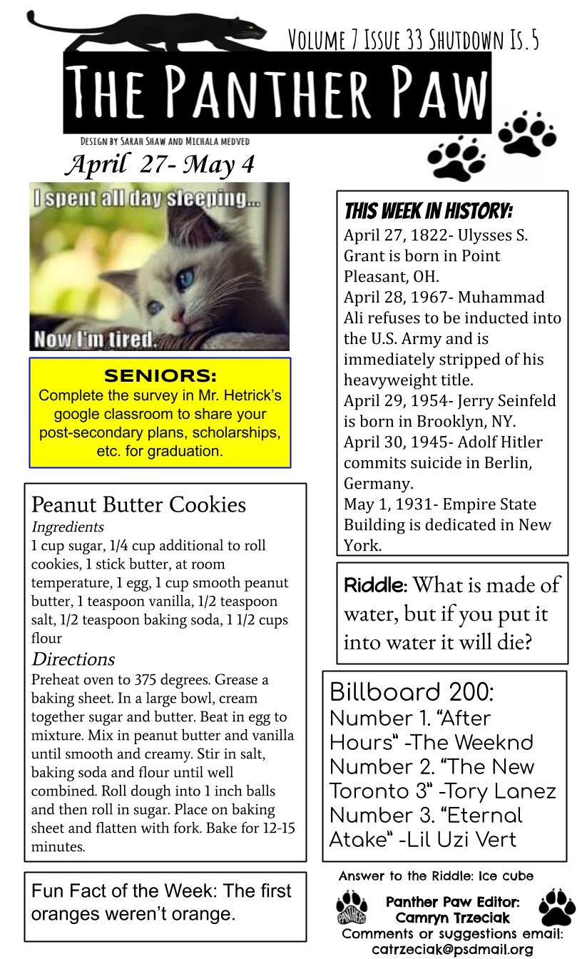 Panther Paw 7.33